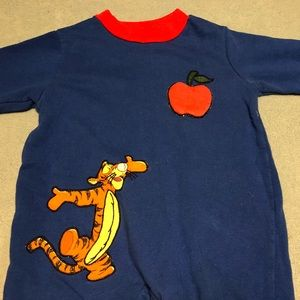 Disney One Pieces - Tiger Footless Bodysuit 🐅🍎